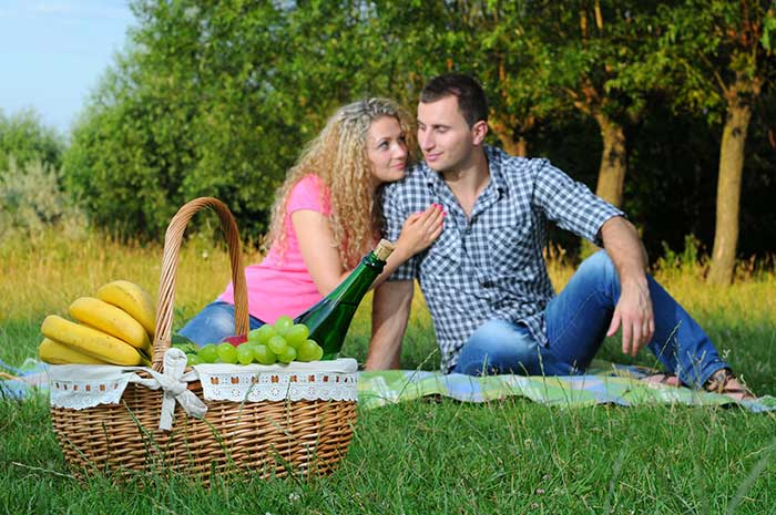 Picnic Hamper Sydney - Couple Picnic